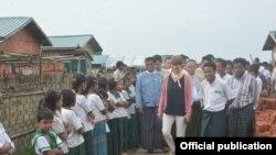 ျမန္မာႏုိင္ငံဆိုင္ရာ အထူးကိုယ္စားလွယ္ Ms. Christine Schraner Burgener ရဲ႕ ရခို္င္ျပည္နယ္ ခရီးစဥ္ (MOI Webportal Myanmar)