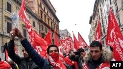 Anti-fašistički skup u Rimu