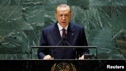 Türkiyə Prezidenti RəcəpTayyib Erdoğan