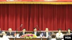 国民党立法行政部门议事运作研讨会 (美国之音杨明)