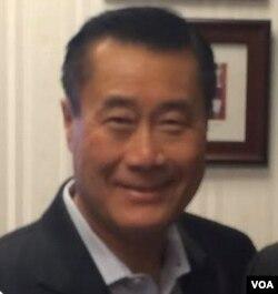 前加州参议员余胤良(美国之音资料照片)