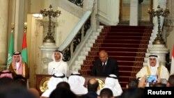Wezîrên derve yên Erebistana Saudî, Bahreyn, Mîrgehên Yekbûyî yên Erebî û Misir