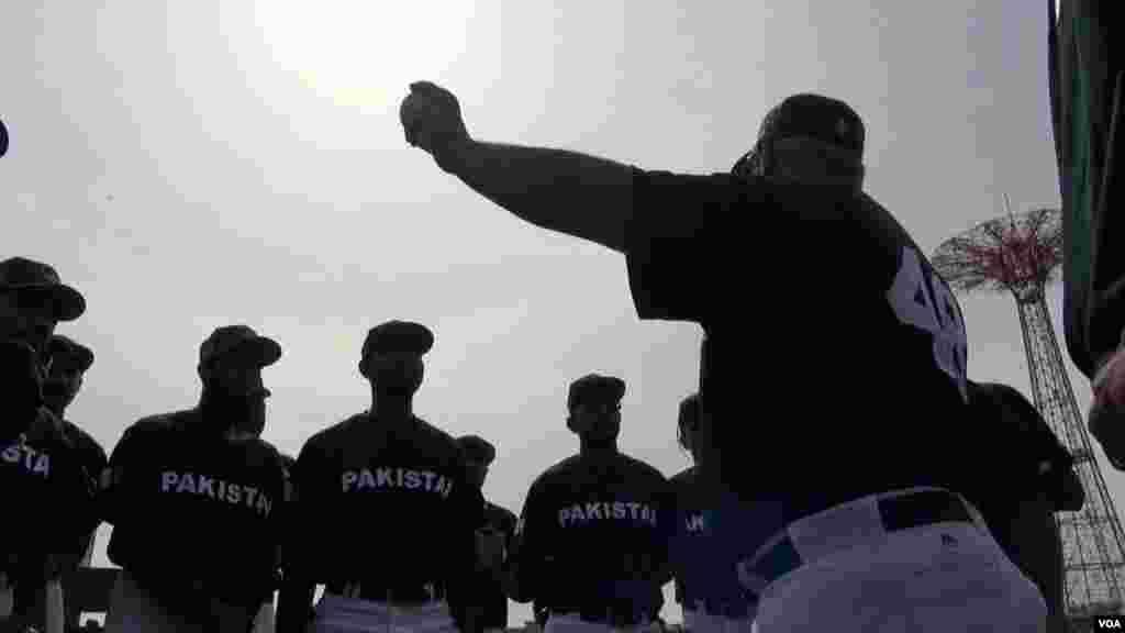پاکستانی ٹیم کا یہ امریکہ کا پہلا دورہ ہے