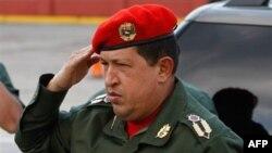 Tổng thống Hugo Chavez của Venezuela (ảnh tư liệu, ngày 14 tháng 12, 2010)