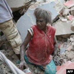 Haiti Uluslararası Toplumdan Yardım Bekliyor