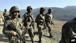 عسکریت پسندوں کے حملے میں پانچ پاکستانی فوجی ہلاک