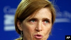 U.N. Ambassador Samantha Power, Sept. 6, 2013.