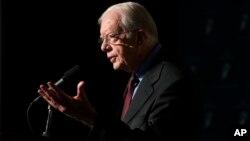 El ex presidente Carter será honrado por su trayectoria.