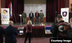 Dan ruskih dobrovoljaca u Višegradu. Izvor: BIRN BiH