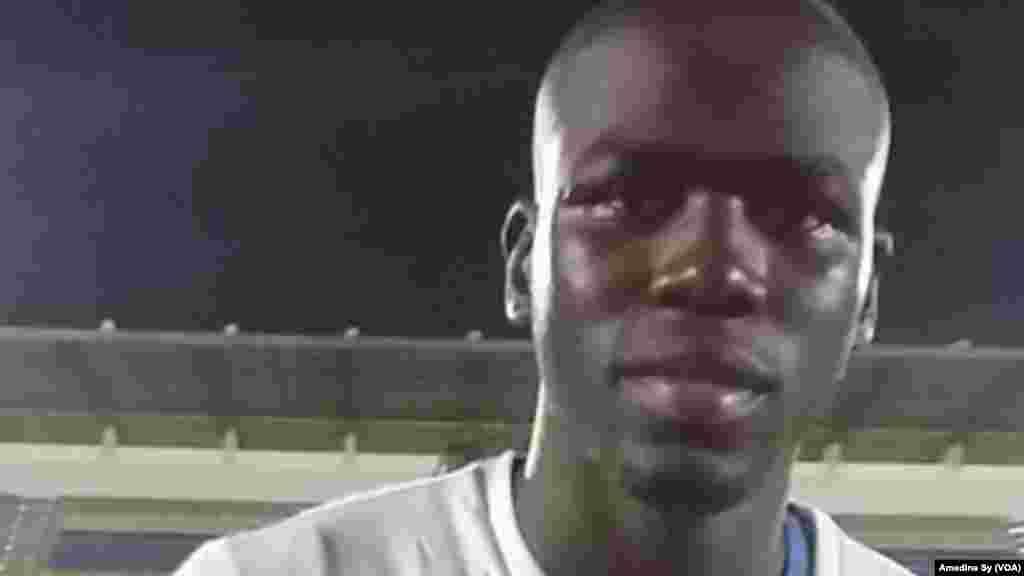 Khalidou Coulibaly na Senegal. (VOA/Amedine Sy)