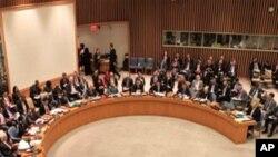 联合国安理会会议现场(资料照片)