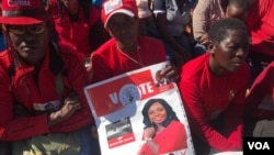Umbuthano wokuvalelisa uNkosikazi Vimbai Tsvangirai Java