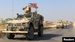 نیروهای امریکایی در سوریه (عکس از آرشیف)