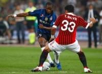 Thiago Silva a peur d'Eto'o - Samuel Eto'o versus Thiago Silva.