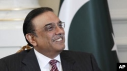 صدر آصف علی زرداری