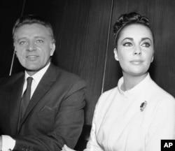 الیزابت تیلور و ریچارد برتون - سال ۱۹۶۲
