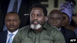 Joseph Kabila, Rais wa DRC.