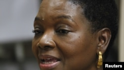 United Nations emergency relief coordinator Valerie Amos, August 16, 2012 file photo.
