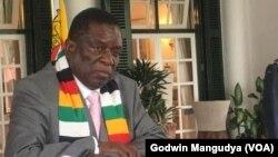 VaEmmerson Mnangagwa