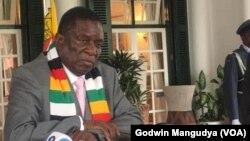 President Emmerson Mnangagwa On CoronVirus1
