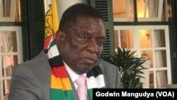 Mutungamiri wenyika, VaEmmerson Mnangagwa.