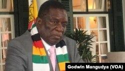 Mutungamiri wenyika, VaEmmerson Mnangagwa vanonzi hurumende yavo yaiswa muhomwe naVaKuda Tagwirei, avo vakaiswa pazvirango neAmerica.