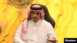 شیخ محمد بن عبدالرحمن آل ثانی وزیر خارجه قطر - آرشیو