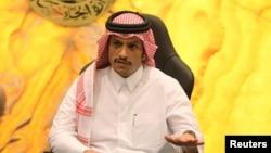 شیخ محمد بن عبدالرحمان آل ثانی وزیر خارجه قطر - آرشیو