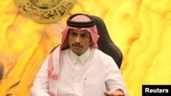 شیخ محمد بن عبدالرحمن آل ثانی وزیر خارجه قطر