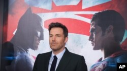 """Ben Affleck attends the premiere of """"Batman v Superman: Dawn of Justice"""" at Radio City Music Hall on Sunday, March, 20, 2016, in New York."""