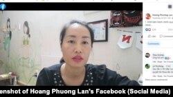Bà Hoàng Phương Lan tuyên bố khởi kiện chính quyền một phường ở Bình Dương liên quan đến vụ cưỡng chế xét nghiệm COVID.