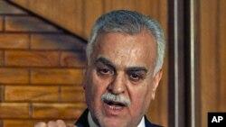 伊拉克副总统哈希米(资料照)