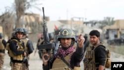 Abasirikare badasanzwe bajejwe kurwanya iterabwoba muri Iraki