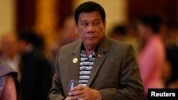 Presiden Filipina Rodrigo Duterte menyalahkan Amerika atas konflik dengan warga Muslim di Filipina selatan (foto: dok).