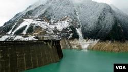 Ингури ГЭС. Архивное фото