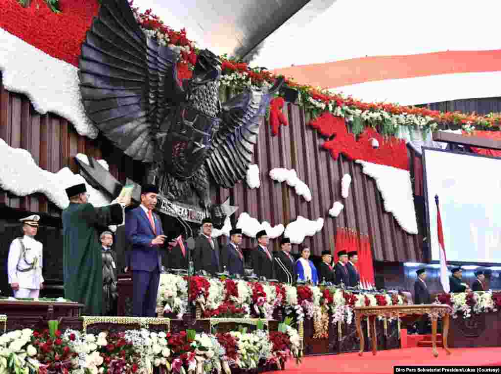 Pelantikan Presiden RI Joko Widodo periode 2019-2014