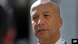 Former New Orleans Mayor Ray Nagin enters Federal Court in for jury selection and possible opening arguments for his corruption trial in New Orleans, Jan. 30, 2014.