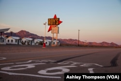 Roy's Cafe and Motel in Amboy, California