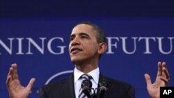 مصر: جمہوریت کی طرف پرامن سفر کی حمایت جاری رکھیں گے، اوباما