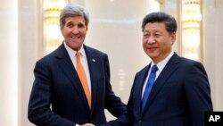 El secretario de Estado, John Kerry, también se reunió con el presidente chino, Xi Jinping.
