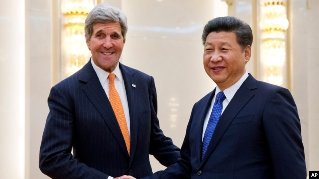 លោក John Kerry ស្នើឲ្យប្រទេសចិនទប់កម្មវិធីបរមាណូរបស់កូរ៉េខាងជើង