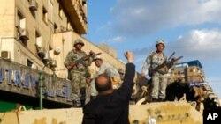 埃及百萬人大遊行軍方保證不對民眾開槍