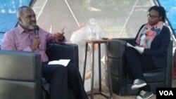 UDokotela Nkosana Moyo ukhuluma labatsha eHarare ...