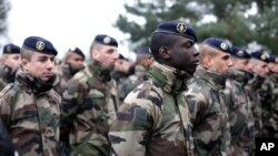 Des soldats français