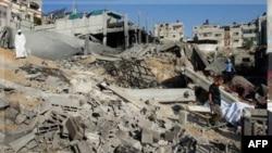Իսրայելի կողմից Գազայի գոտու ուղղությամբ իրականացված օդային հարձակումներից մեկի հետևանքներ (արխիվային լուսանկար)