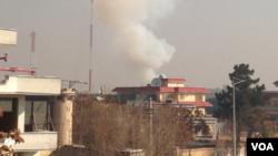انفجار در دیپو ریاست عمومی امنیت ملی