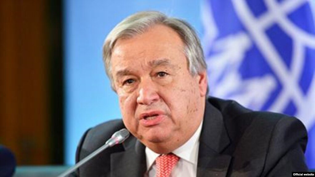 انتونیو گوترش، منشی عمومی ملل متحد