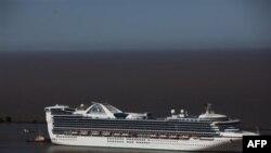 Brodu Star Princes u januaru nije bilo dozvoljeno da udje u luku na Foklandskim ostrvima zbog izbijanja stomačnog gripa medju putnicima.