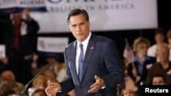 Capres AS dari partai Republik, Mitt Romney mengritik kebijakan luar negeri pemerintahan Presiden Obama (foto: dok).