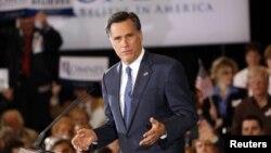 Ứng viên tổng thống của đảng Cộng hòa Mitt Romney